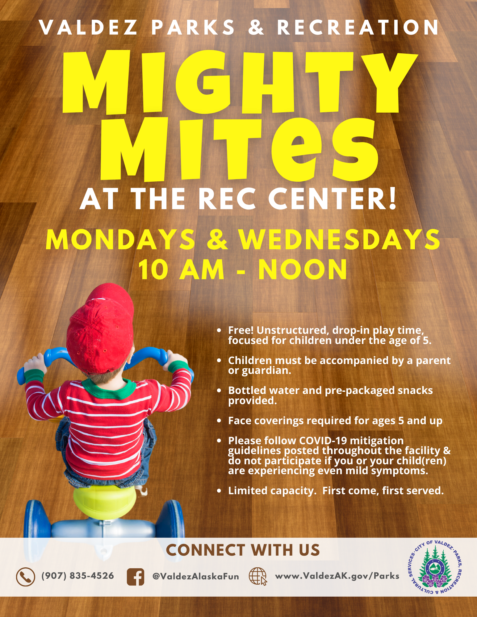 Mighty Mites to the Rec Center (2)