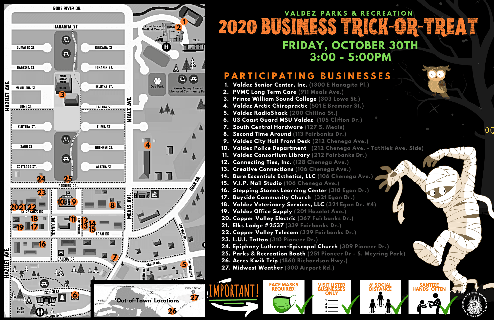 Business Trick-or-Treat Map and List - FINAL