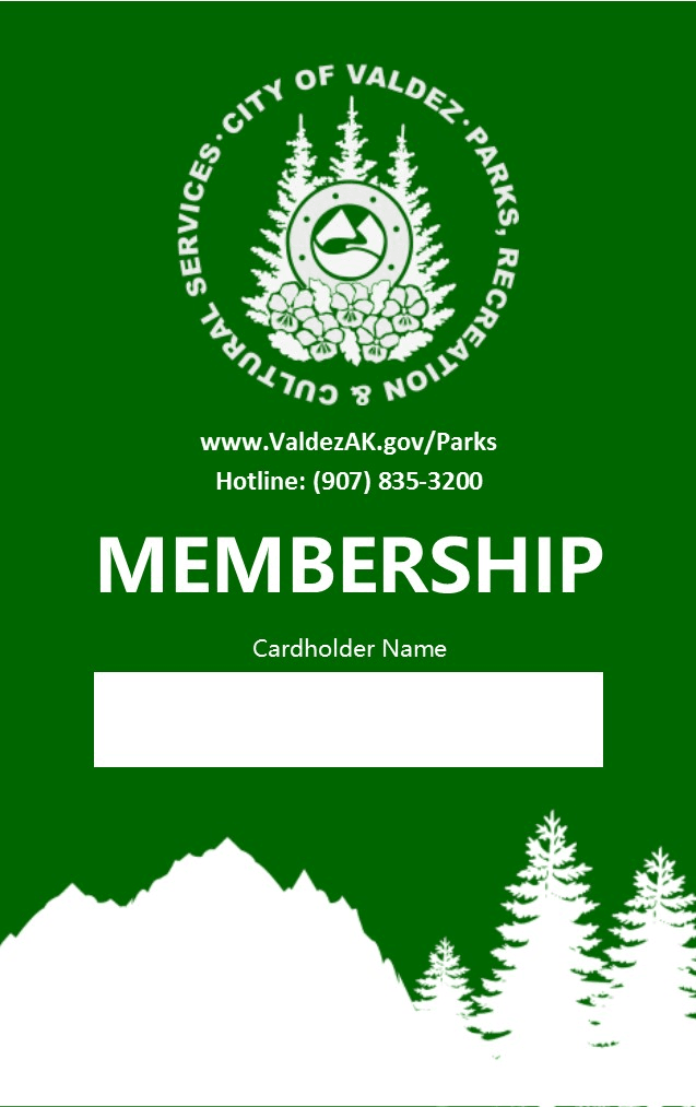 Rec Pass Membership Card