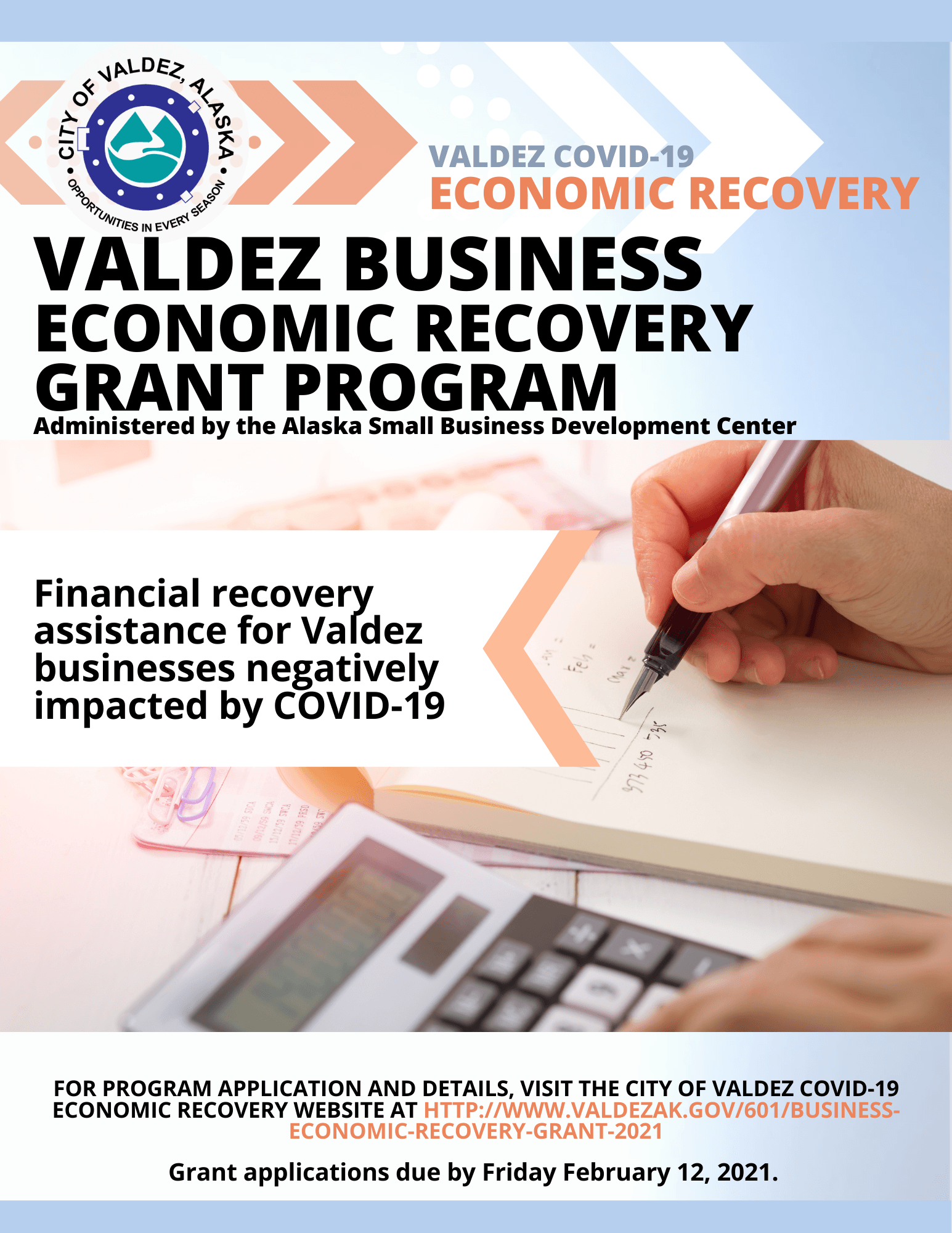 Economic Recovery Business Grant Program
