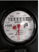 Photo of a water meter dial