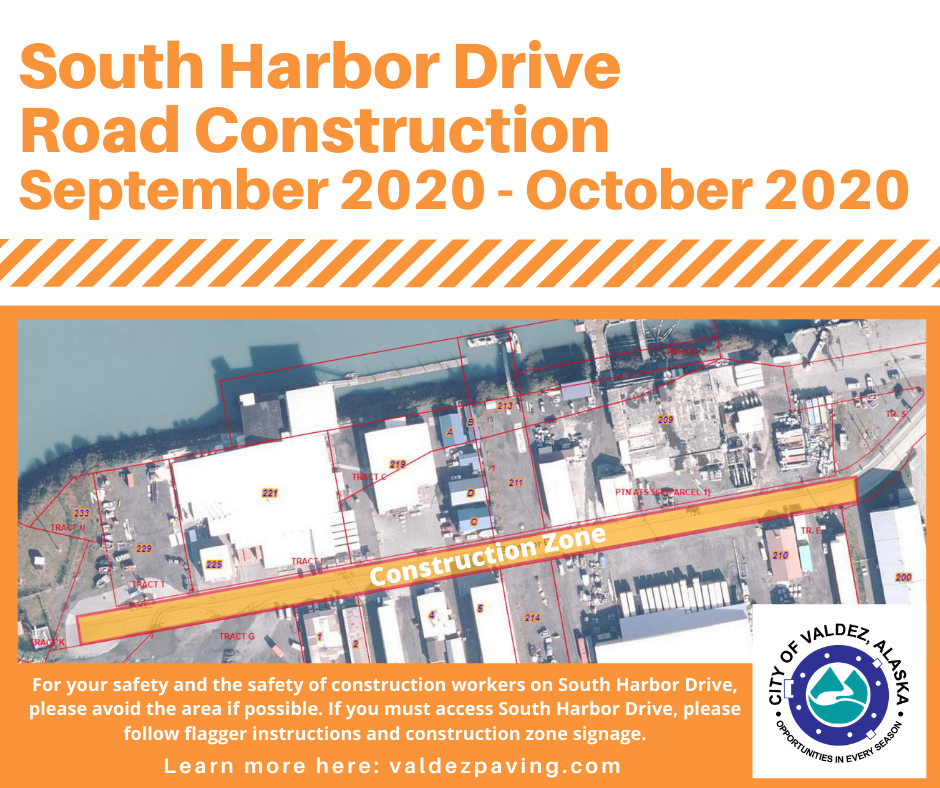 South Harbor Drive Construction
