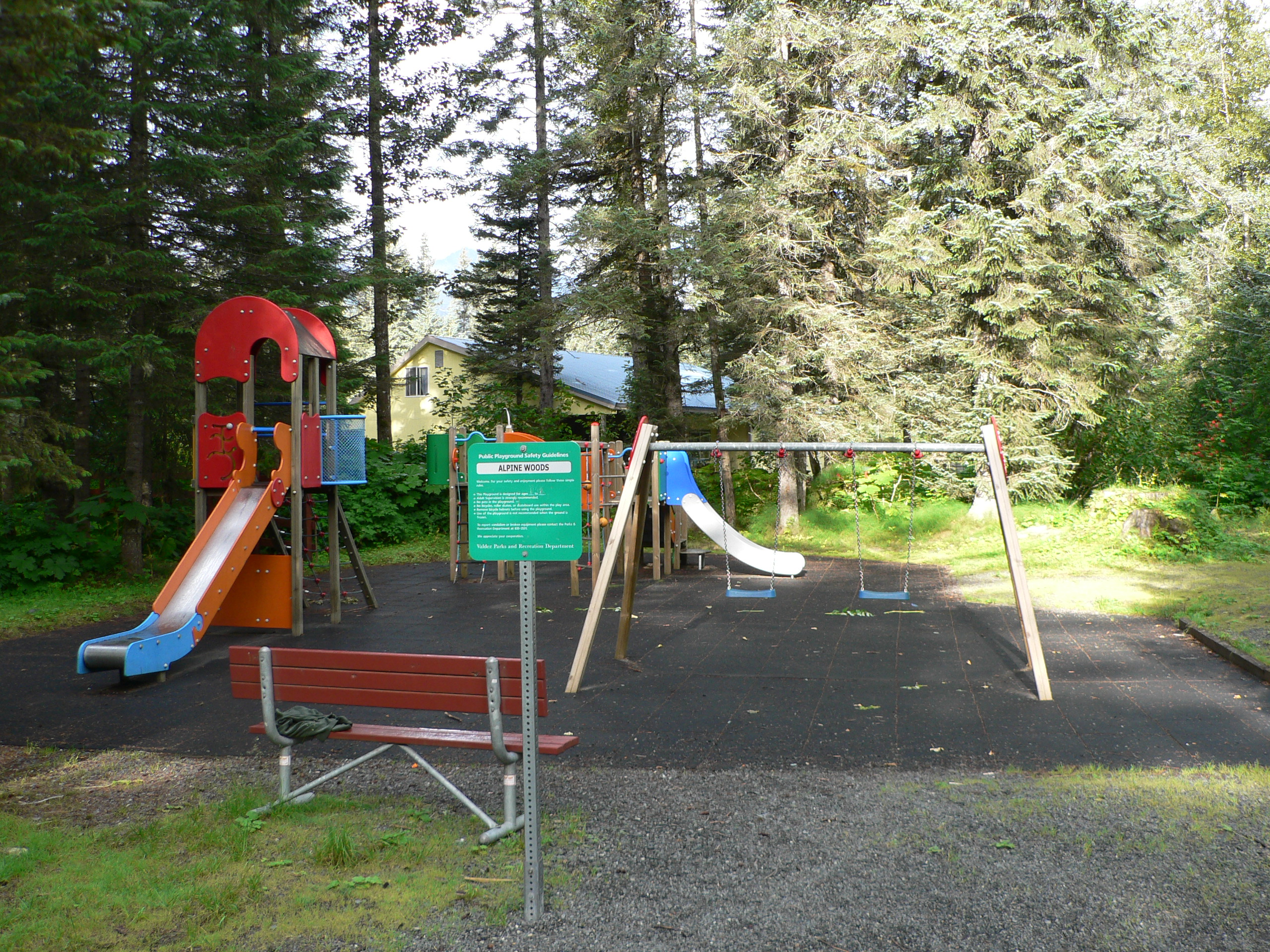 Alpine woods playground 1