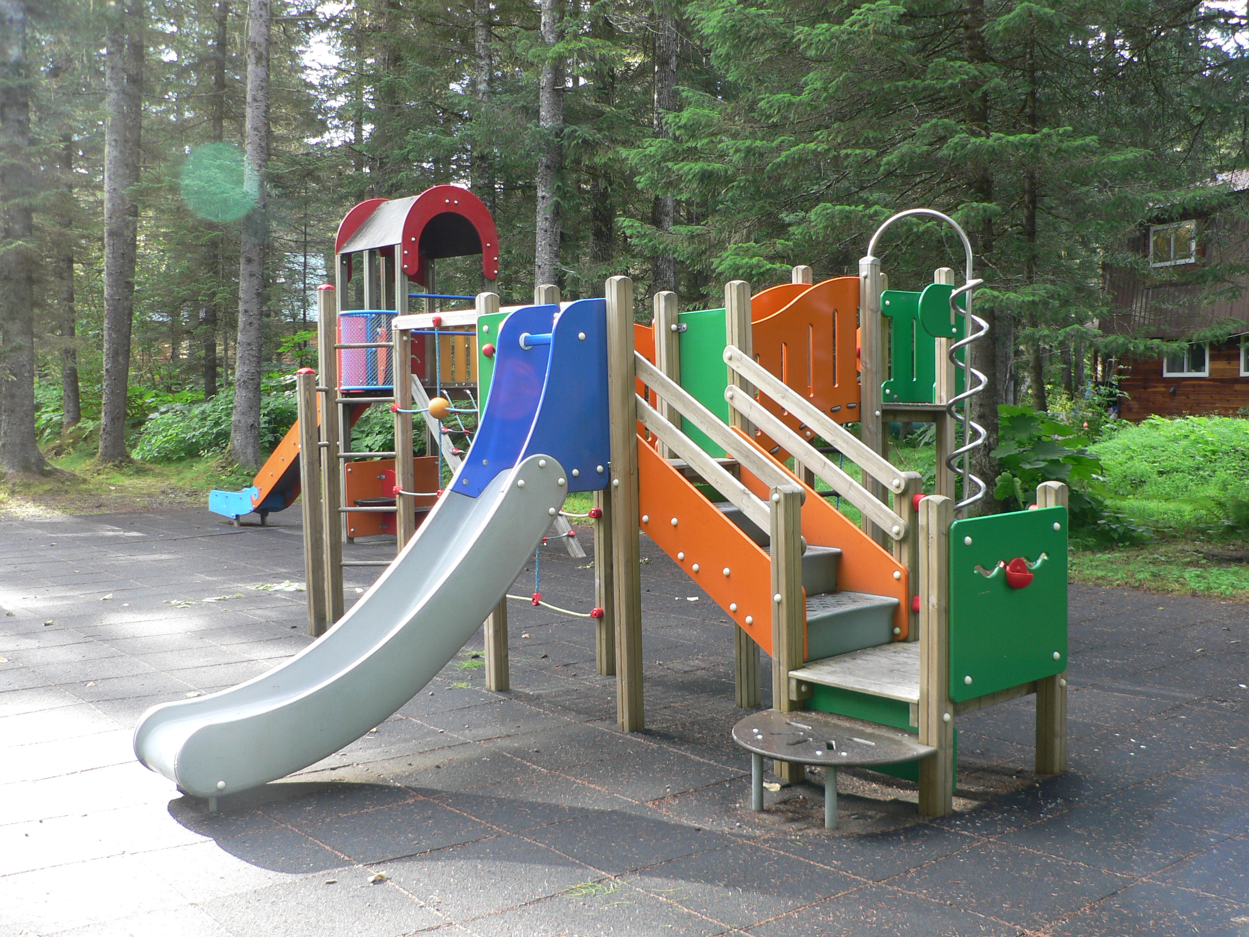 Alpine woods playground 2
