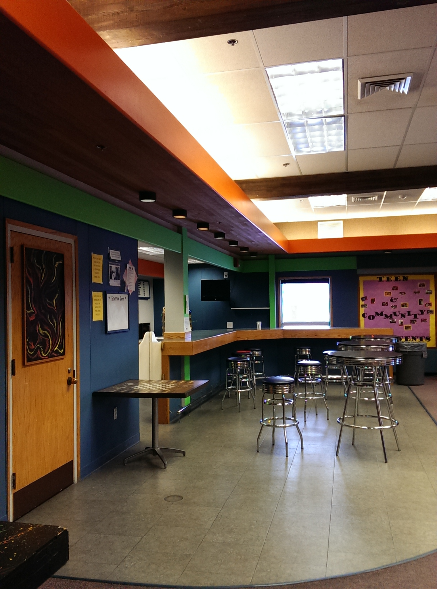 Game Room Concession Area