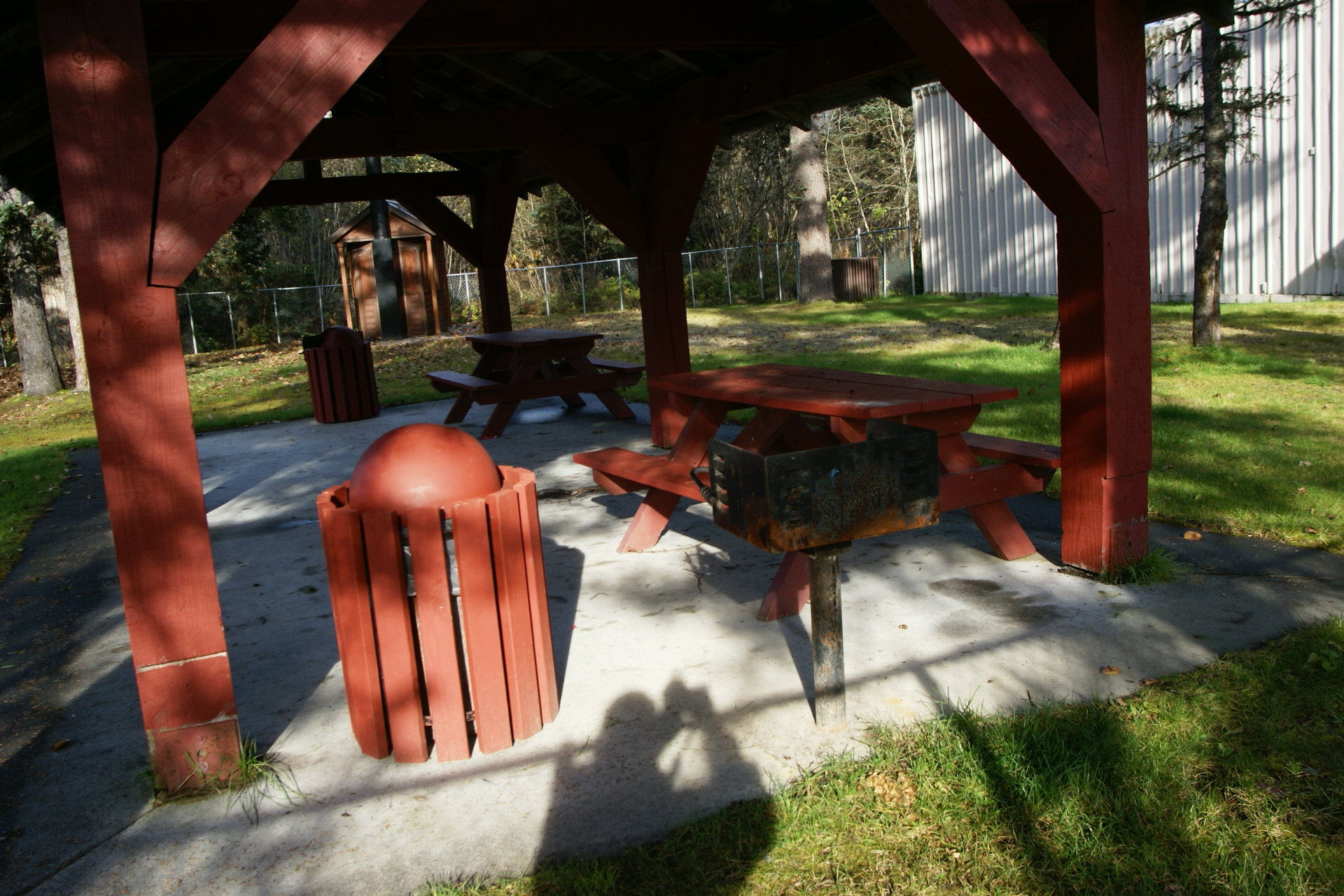 Robe river picnic shelter