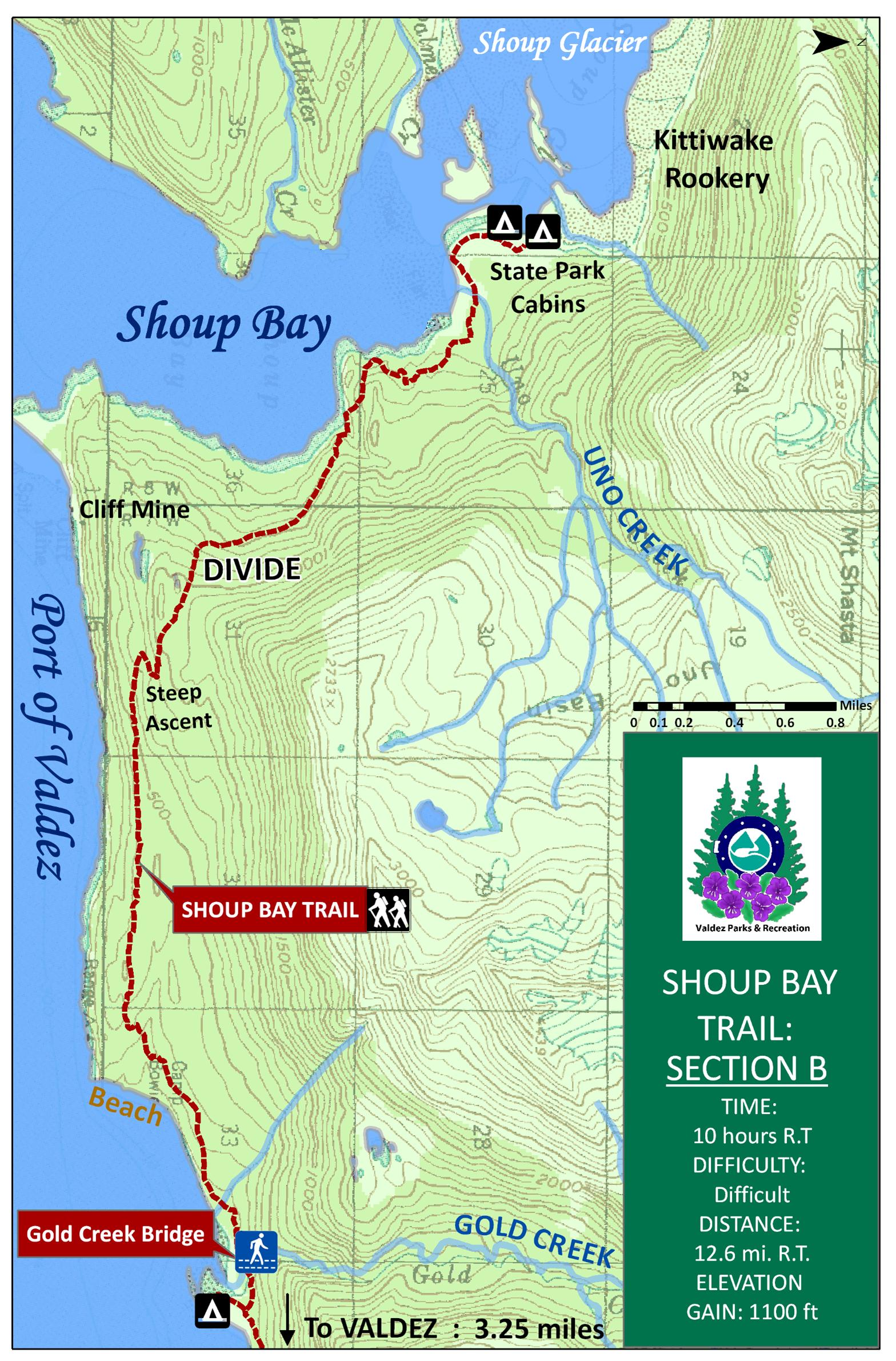 Shoup Trail Map b